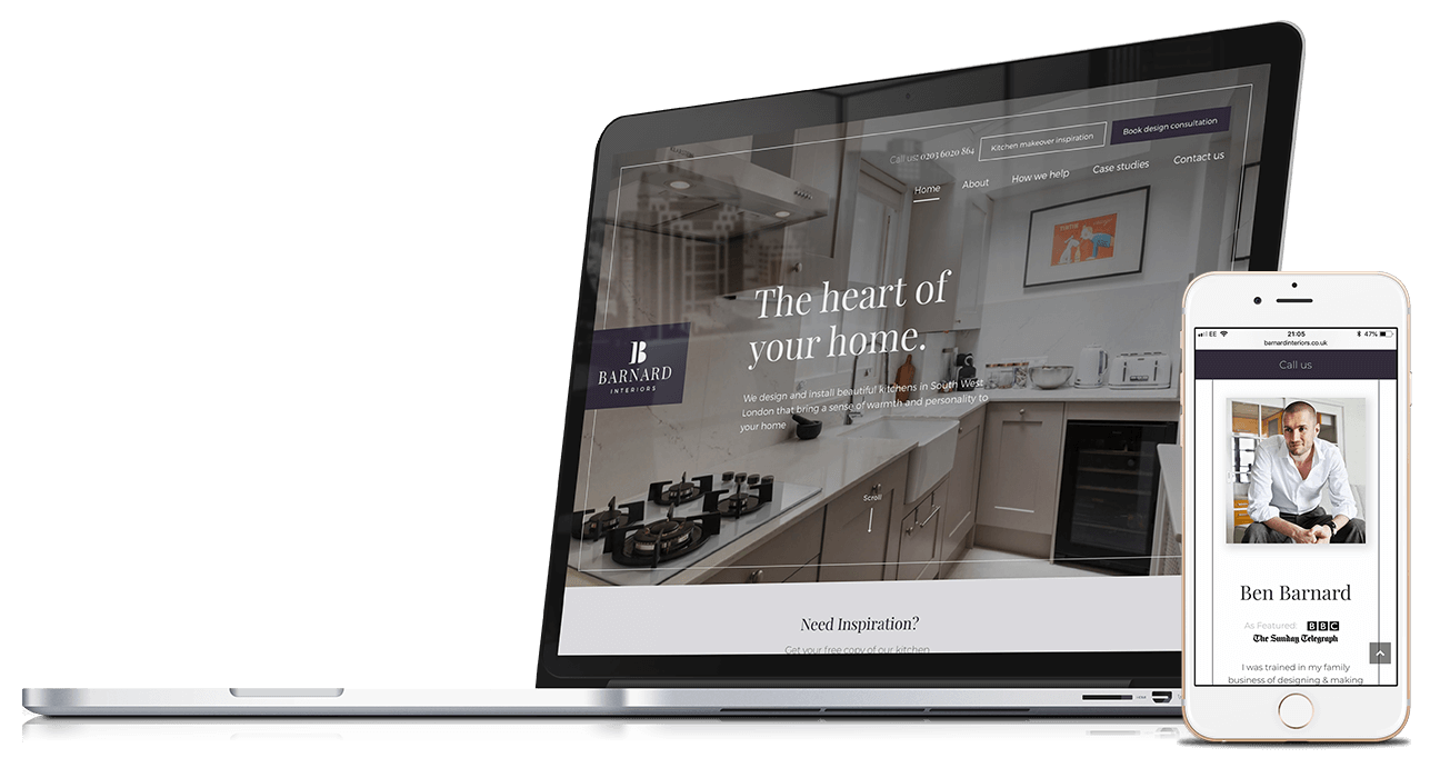 Barnard Interiors | Branding, Website Design & Development