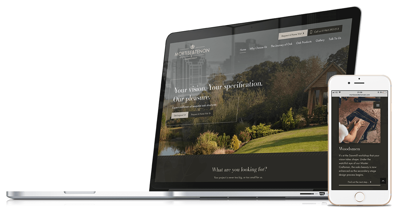 Mortise & Tenon | Website Design & Development