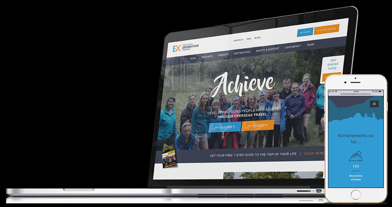 The School Expedition Co. | Branding, Website Design & Development
