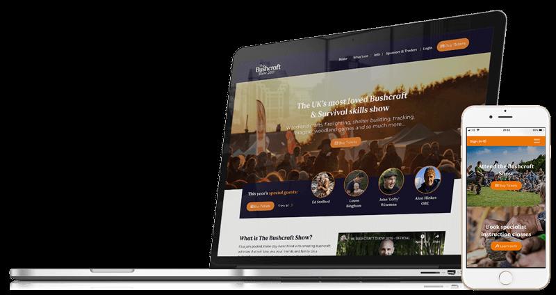 The Bushcraft Show & Magazine | Website Design & Development